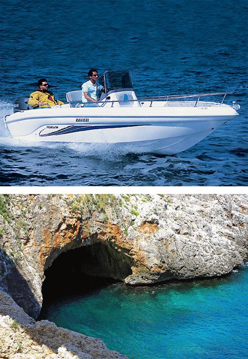 Noleggio barche Salento